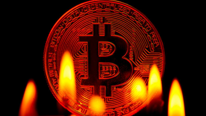 Nearly $170 billion wiped off cryptocurrency market in 24 hours as bitcoin pulls back