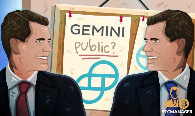 Winklevoss Twins Mulling Plans to Take Gemini Crypto Exchange Public