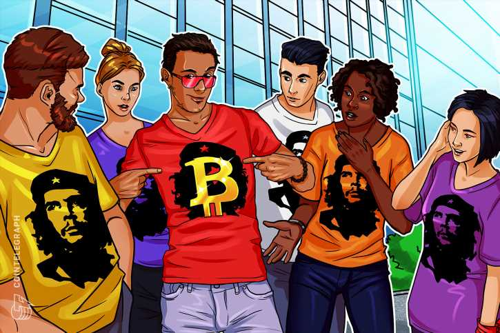 Bitcoin has become nothing but the new Che Guevara T-shirt