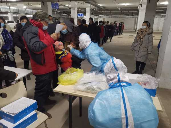 City Near Beijing Locked Down Amid Outbreak of Around 200 Cases