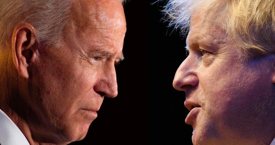 Joe Biden's administration doesn't trust Boris Johnson because of his ties to Trump