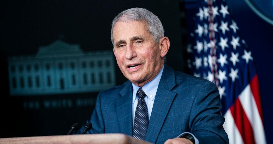 Fauci calls COVID-19 shots' diminished results against the mutated virus 'a wake-up call'