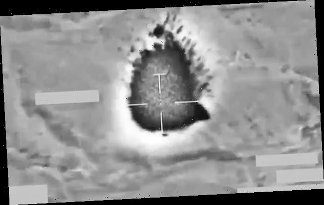 RAF jets destroy ISIS terror cells with laser-guided bomb in Iraq