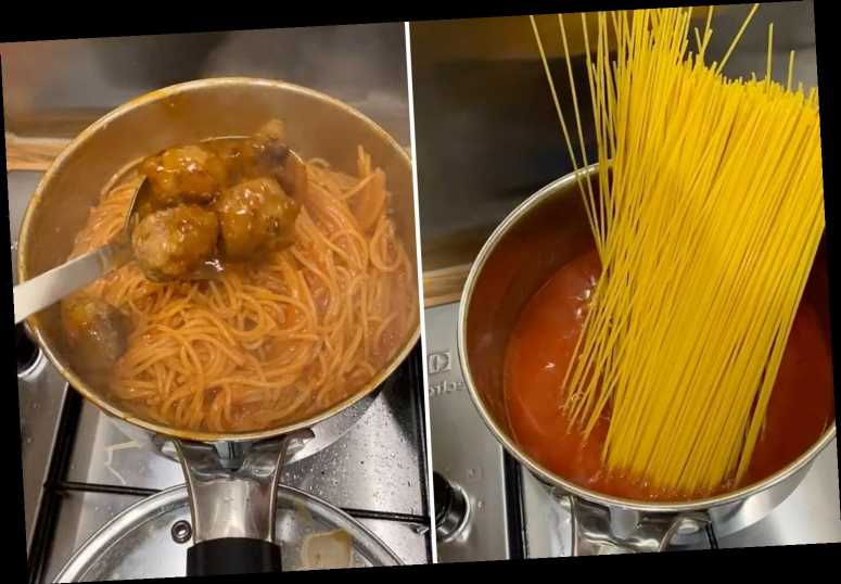 Woman boils her pasta in tomato sauce rather than water – and it's blowing people's minds