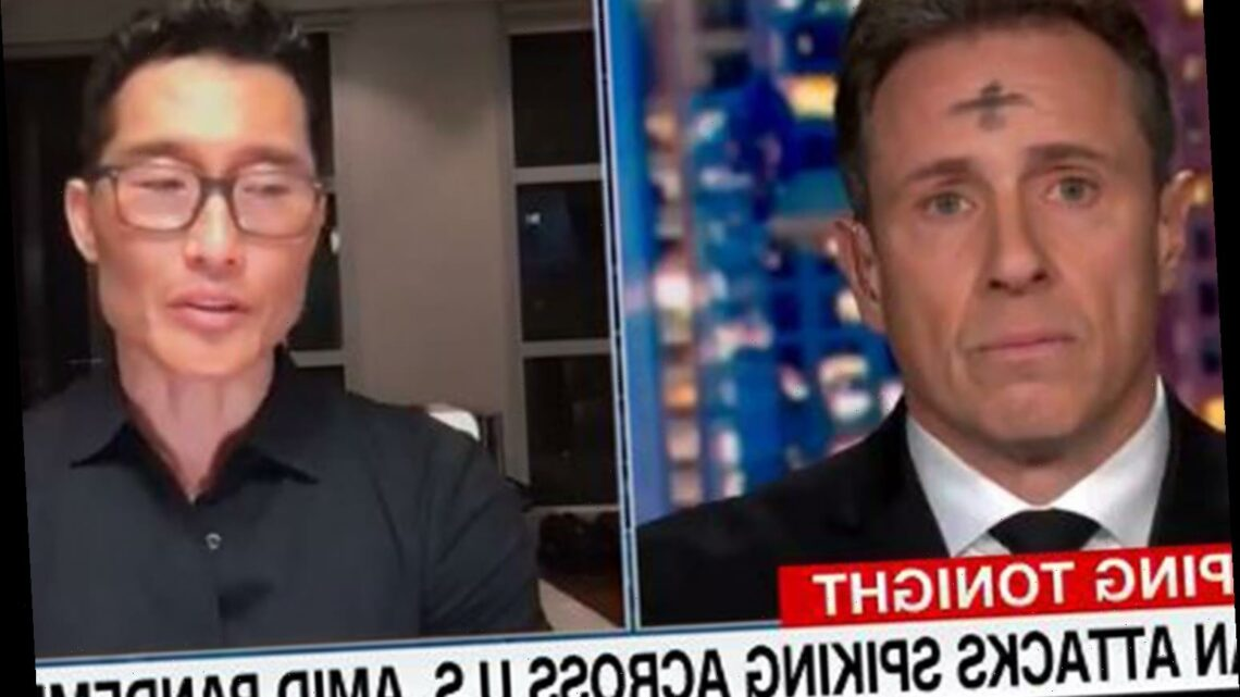 Why is 'Chris Cuomo's forehead' trending?