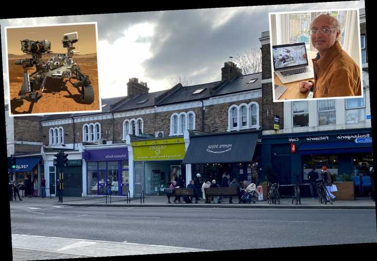 How NASA professor is controlling Mars rover Perseverance from flat above a south London hairdressers