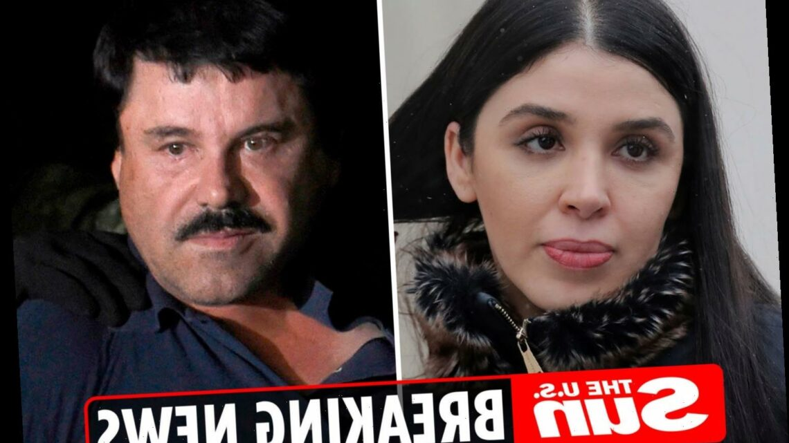 El Chapo's beauty queen wife Emma Coronel Aispuro ARRESTED on drugs trafficking charges and 'plotting prison escapes'