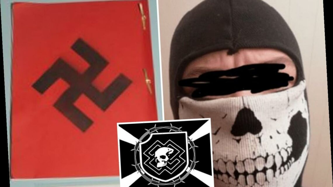 Britain's youngest terrorist joined warped neo-Nazi group that called for 'raping Christian nuns in Hitler's name'
