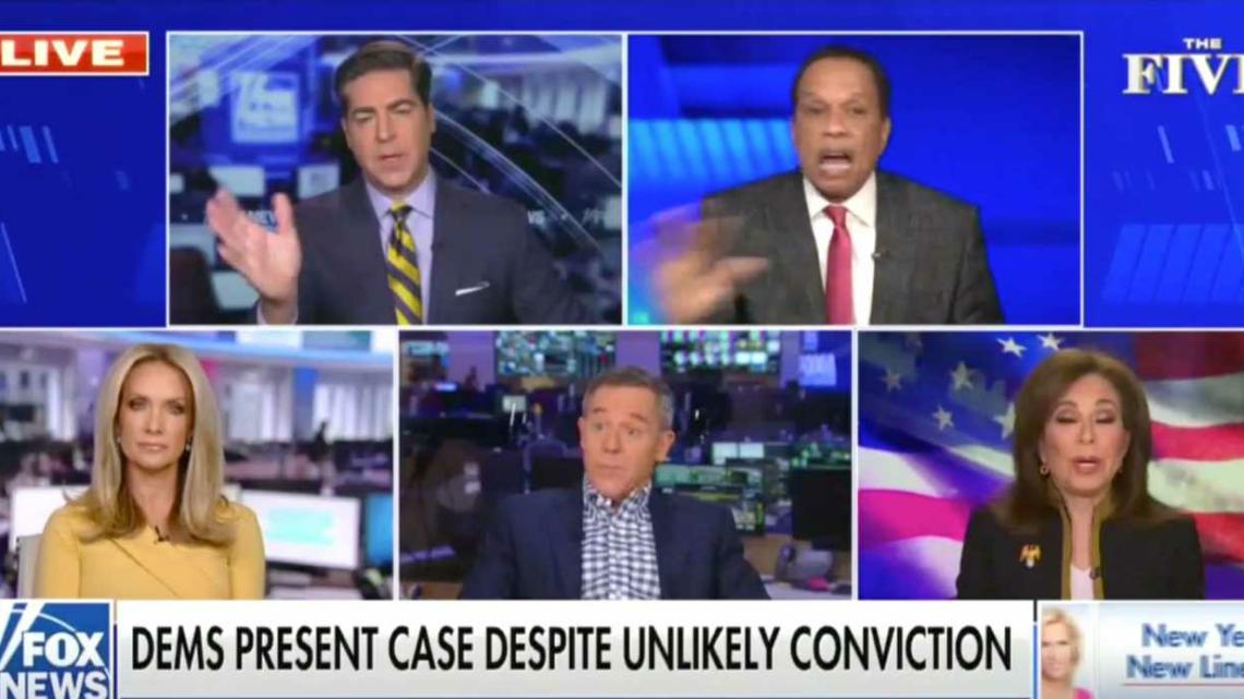 Juan Williams Accuses Fox News Co-Hosts Of 'Ignoring' Impeachment Trial