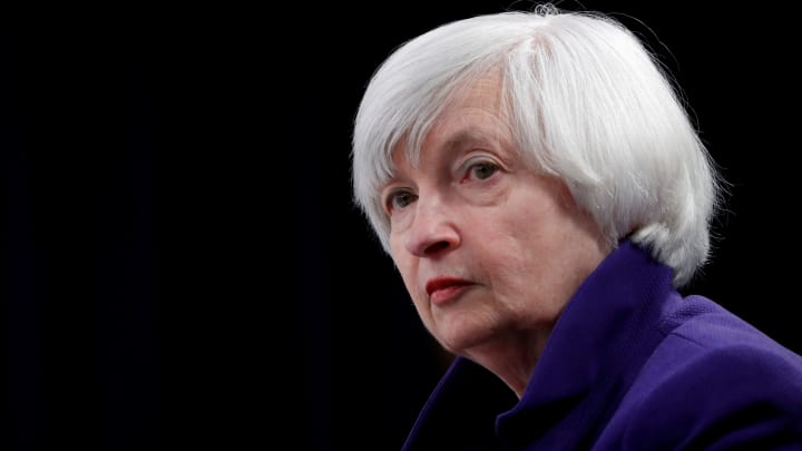 Yellen says investors should be very careful with some sectors, calls bitcoin 'highly speculative'