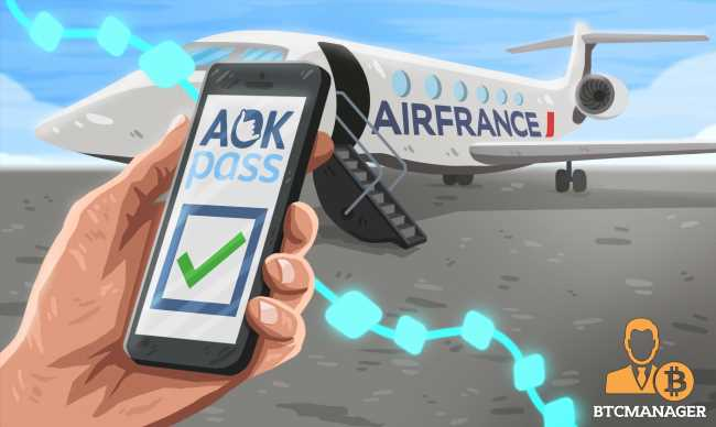 Air France Set to Test Blockchain-based COVID-19 Test Verification Solution