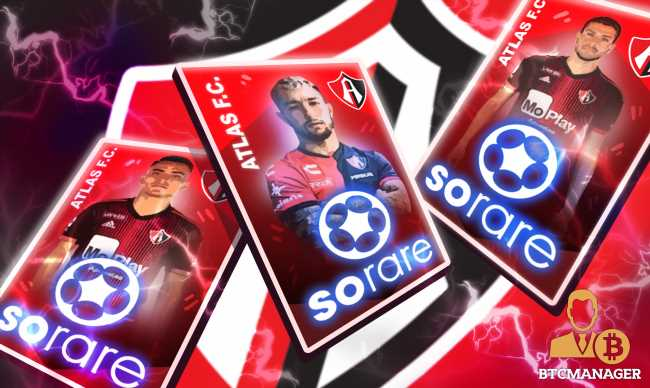 Sorare Partners with Atlas Futbol Club of Mexico, NFT Player Card Auction Now Live
