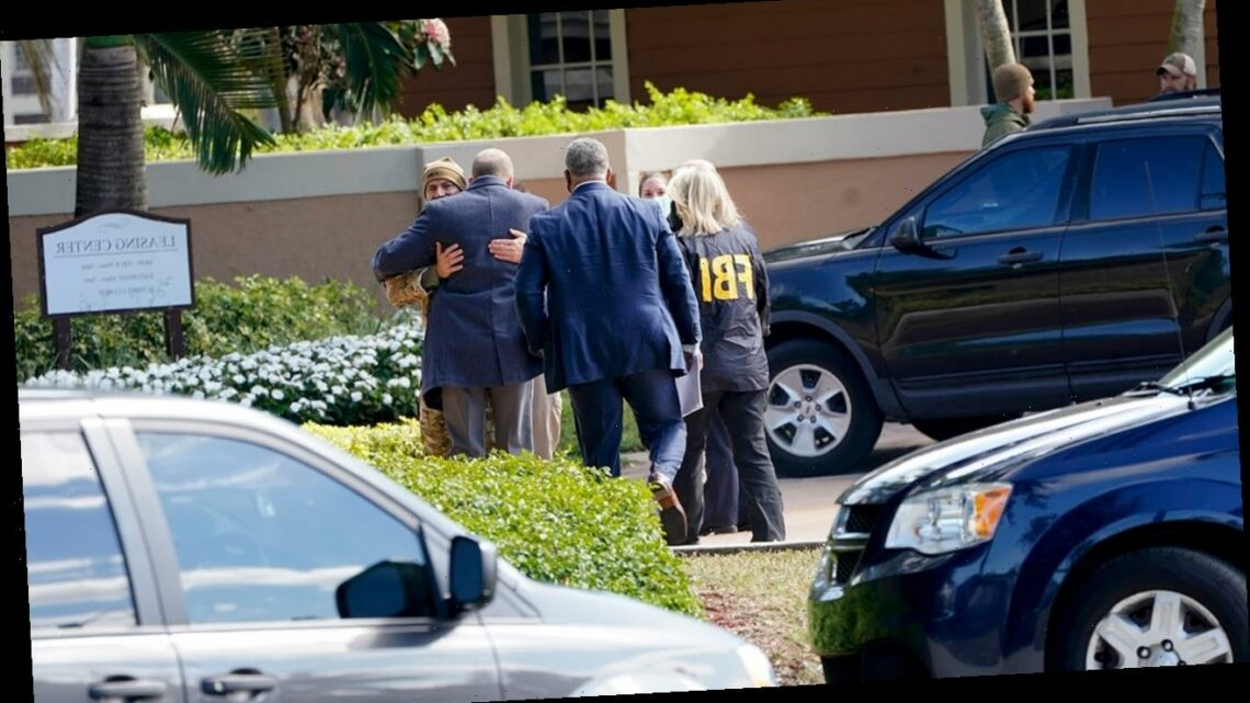 Florida dispatch audio reveals chilling moment two FBI agents are fatally shot