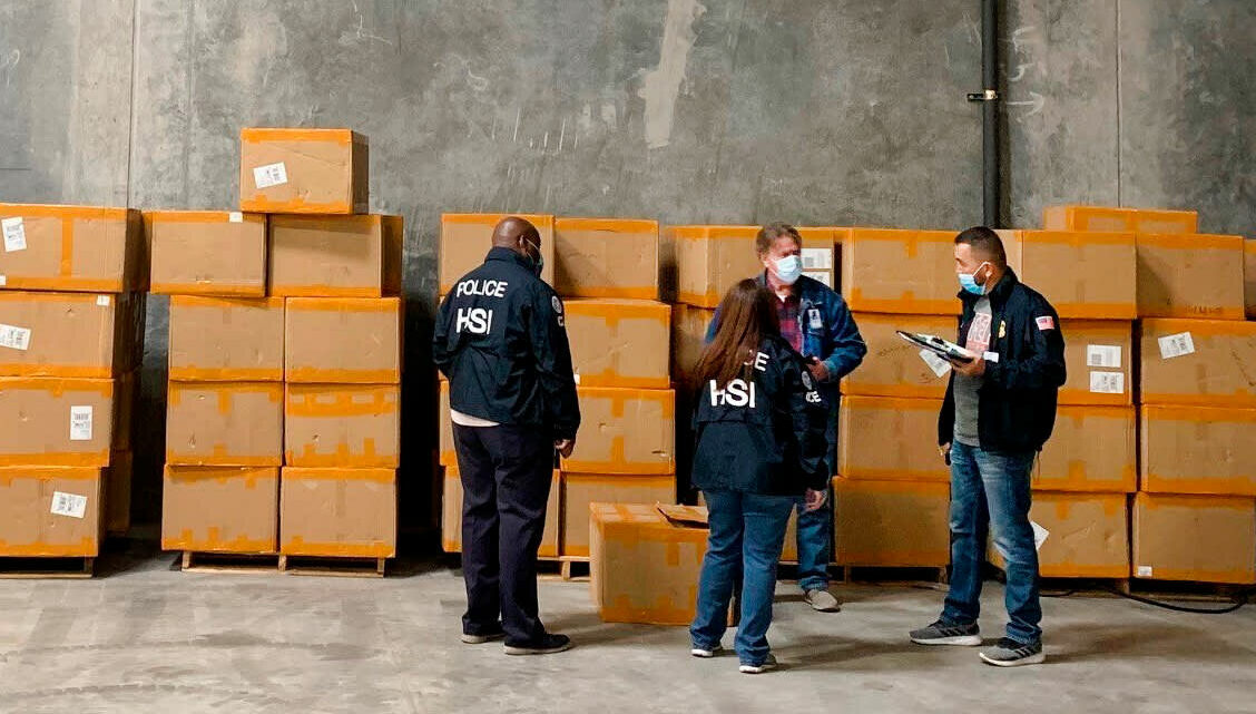 DHS seizes over 11 million counterfeit 3M N95 masks, more raids to come