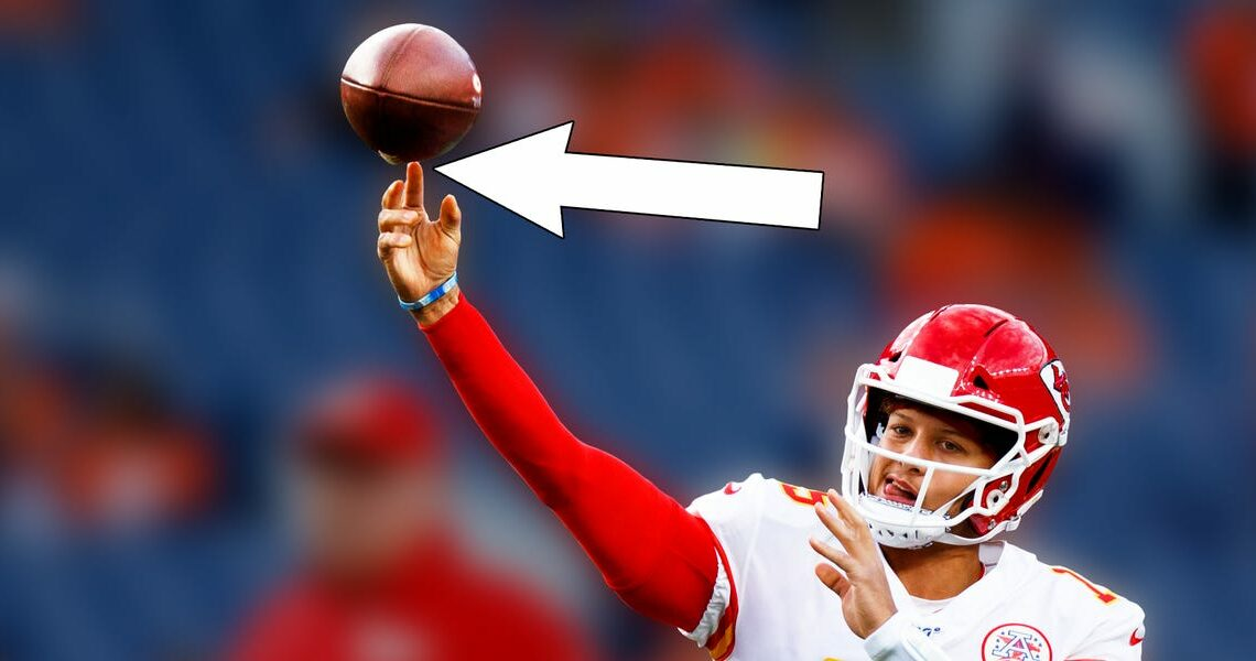 The science behind how NFL quarterbacks throw perfect spirals