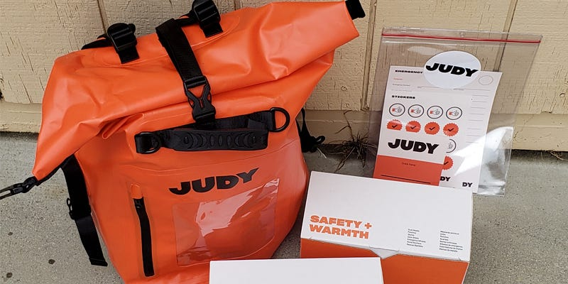 An emergency kit from Judy is a great place to start when preparing for an impending storm or natural disaster