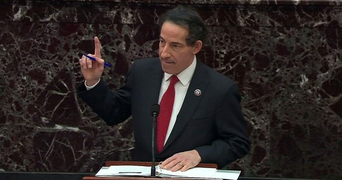 WATCH: Lead impeachment manager Jamie Raskin chokes up speaking about burying his son a day before the Capitol attack