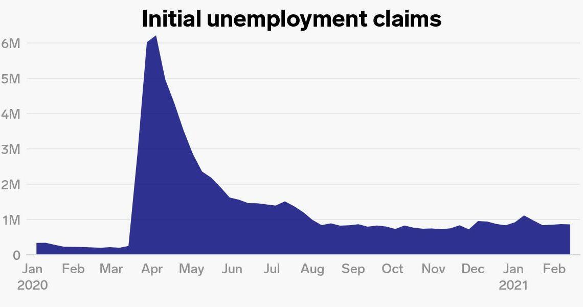 US weekly jobless claims unexpectedly jump to 861,000 as Democrats make sluggish stimulus progress