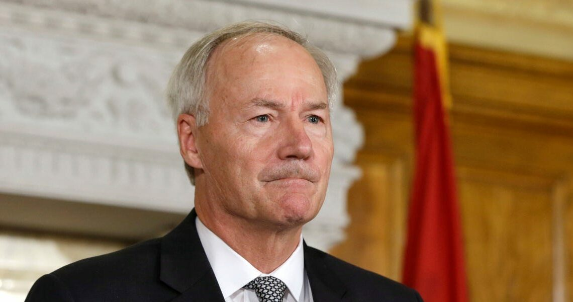 Arkansas Gov. Asa Hutchinson said letting Trump 'define' the future of the Republican party will 'just further divide our country'