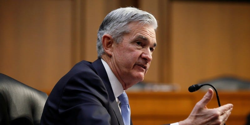 Fed's Powell says state and local governments are rebounding faster right now than during the financial crisis