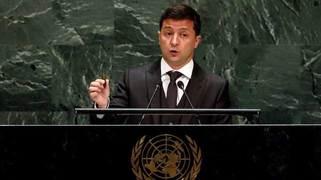 Ukraine's Zelensky 'offended' by media reporting that Trump 'put pressure' on him
