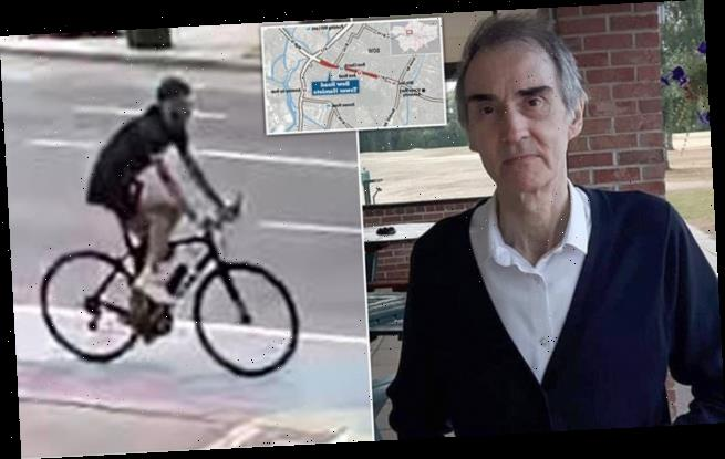 Cyclist 'jumped red light then knocked down and killed pensioner'
