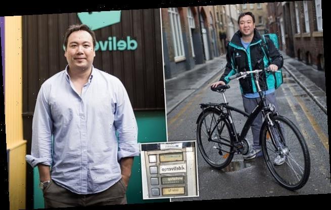 Deliveroo founder set to make up to £500m STILL delivers meals himself