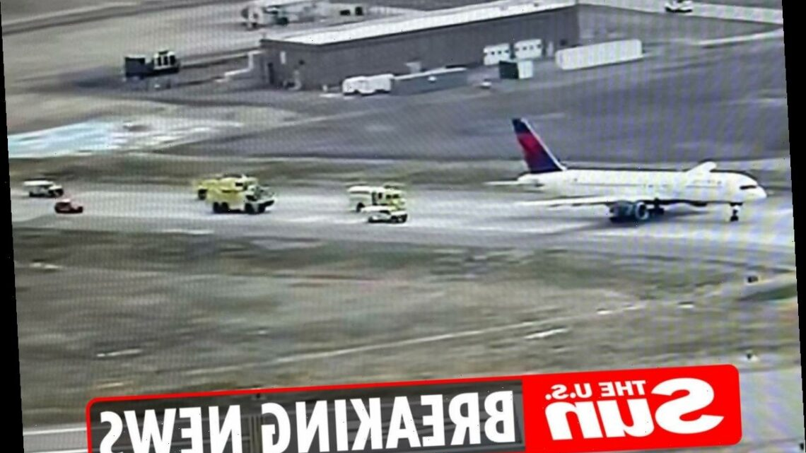 Delta Boeing jet forced to make emergency landing after take off due to engine trouble