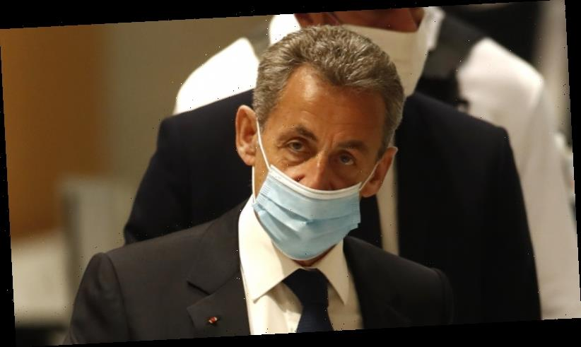 Former French president Sarkozy convicted of corruption, sentenced to prison