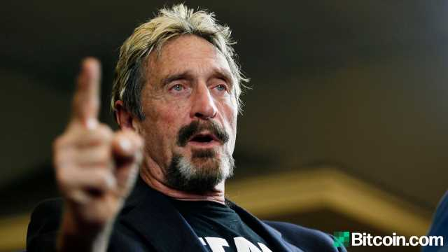 John McAfee Indicted by DOJ Over Alleged Cryptocurrency Fraud Charges – Bitcoin News