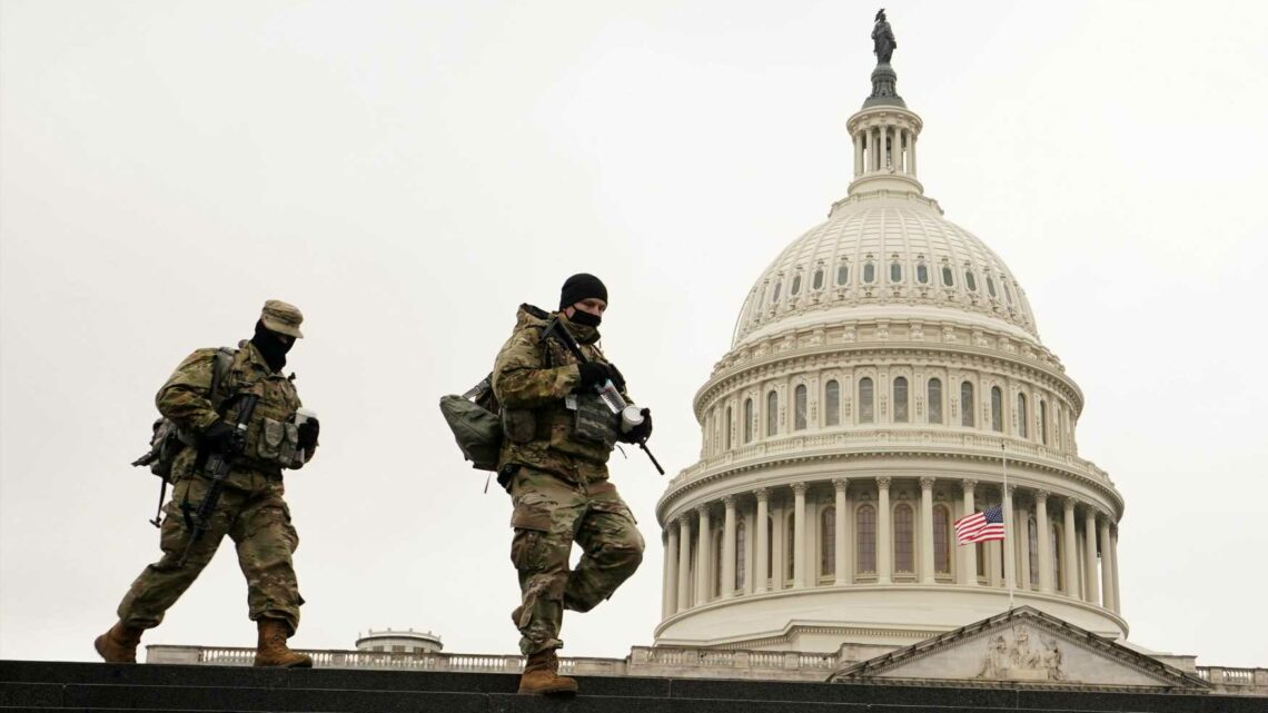 Police preparing for possible militia 'plot to breach the Capitol' in Washington on Thursday