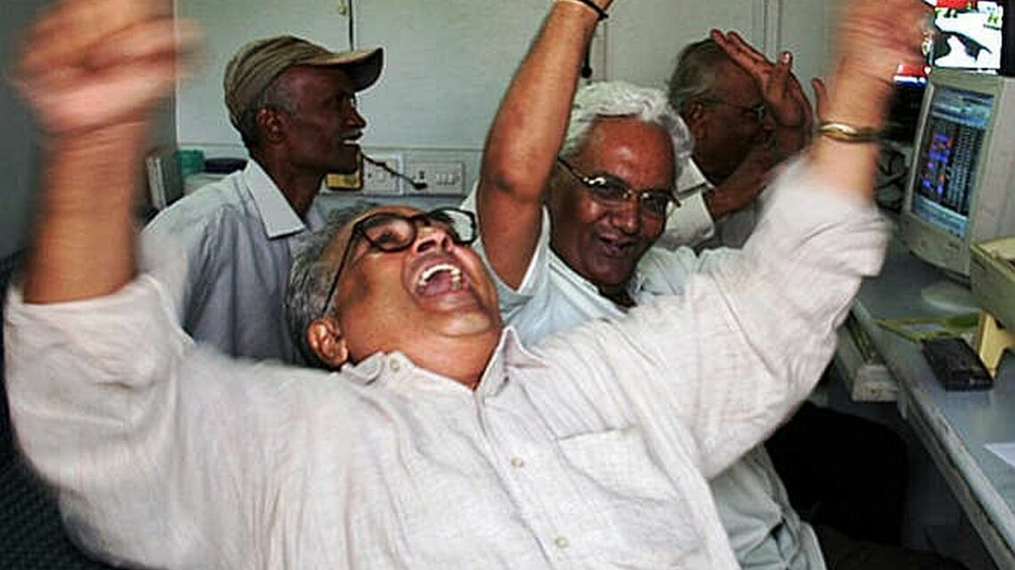 Sensex zooms over 66% in Covid-hit FY'21
