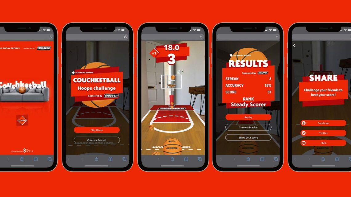 USA TODAY Sports Media Group Launches Playable Brackets and AR Hoops Experience