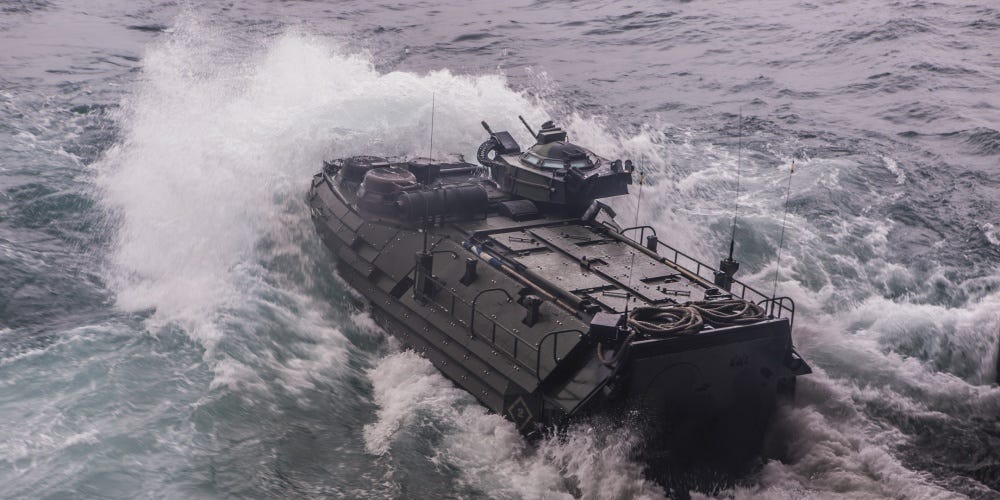 US Marine Corps fires another commander over the assault amphibious vehicle accident that killed 9 troops