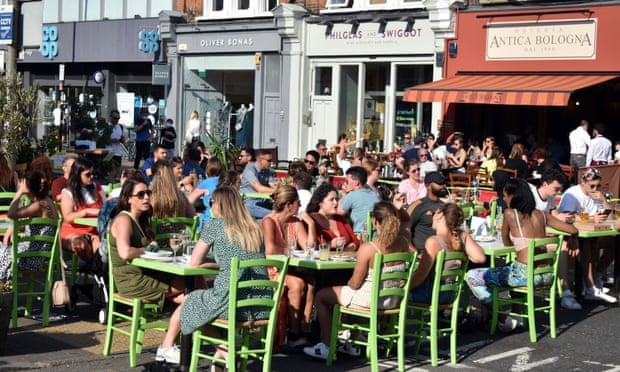 Beer gardens sold out for months as English pubs count the days to April reopening