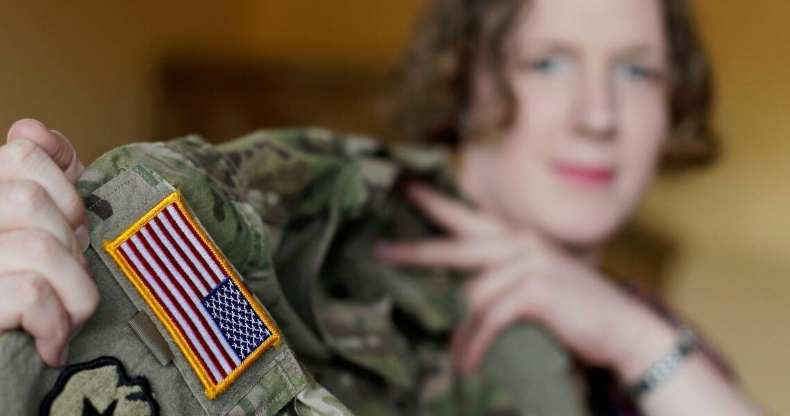 The Pentagon is sweeping away Trump policies that largely banned transgender people from military service