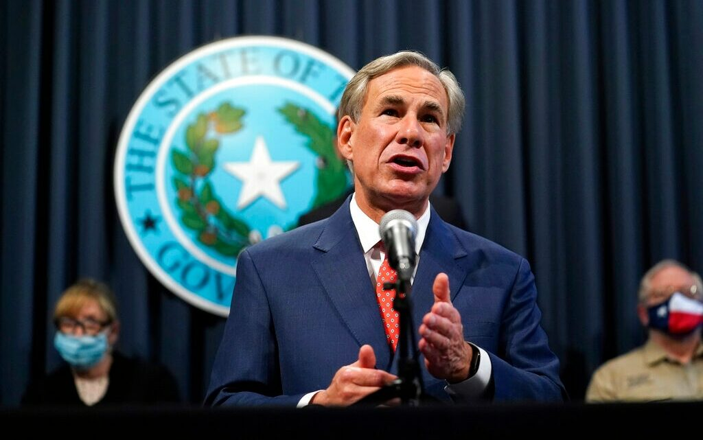 Texas Gov. Abbott announces plan to fully reopen businesses, end state mask mandate
