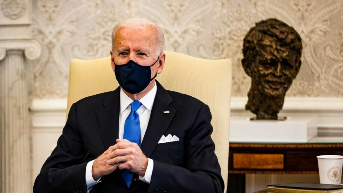 President Joe Biden signals support to replace war power authority in Middle East