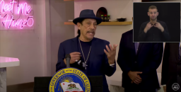 """'Machete' Star Danny Trejo Passionately Defends Gavin Newsom At Governor's News Conference: """"This Guy's Been Trying To Save Our Lives"""""""