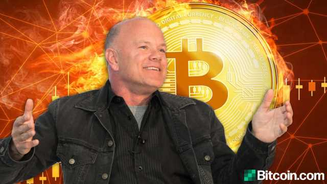 'Weird Coins Like DOGE and XRP Spike'- Galaxy Digital's Mike Novogratz Warns of a Crypto Market 'Washout' – Markets and Prices Bitcoin News