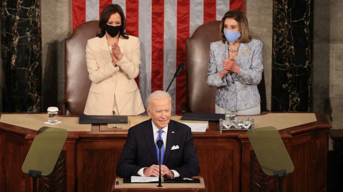 Biden address live updates: President starts address to joint session of Congress by giving nod to Kamala Harris, Nancy Pelosi