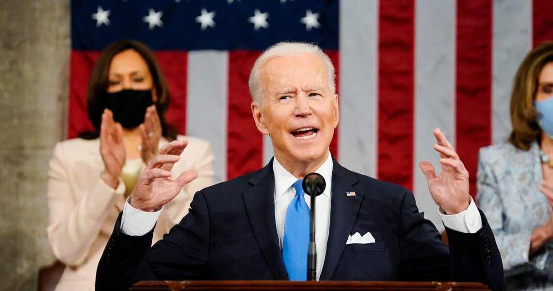 Biden said US adversaries see the images from the Capitol riot 'as proof that the sun is setting on American democracy'
