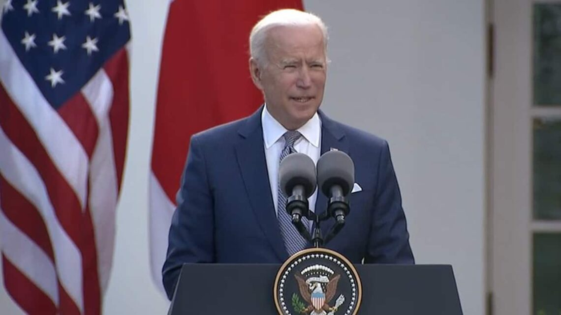 Biden says US, Japan 'committed to working together' on challenges from China, North Korea