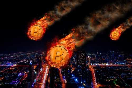 Bitcoin Crashes: Drops to $49,000 Per Unit