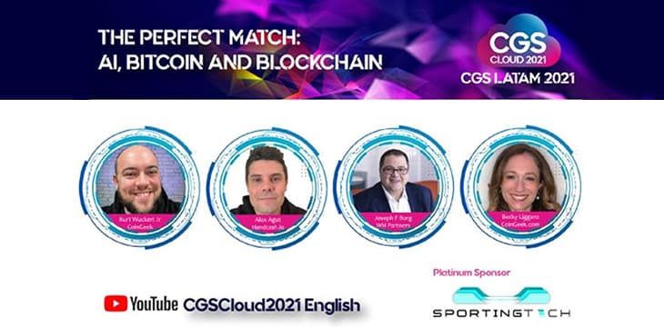 CGS LatAm 2021 panel explores 'perfect match' synergy between AI, blockchain and iGaming