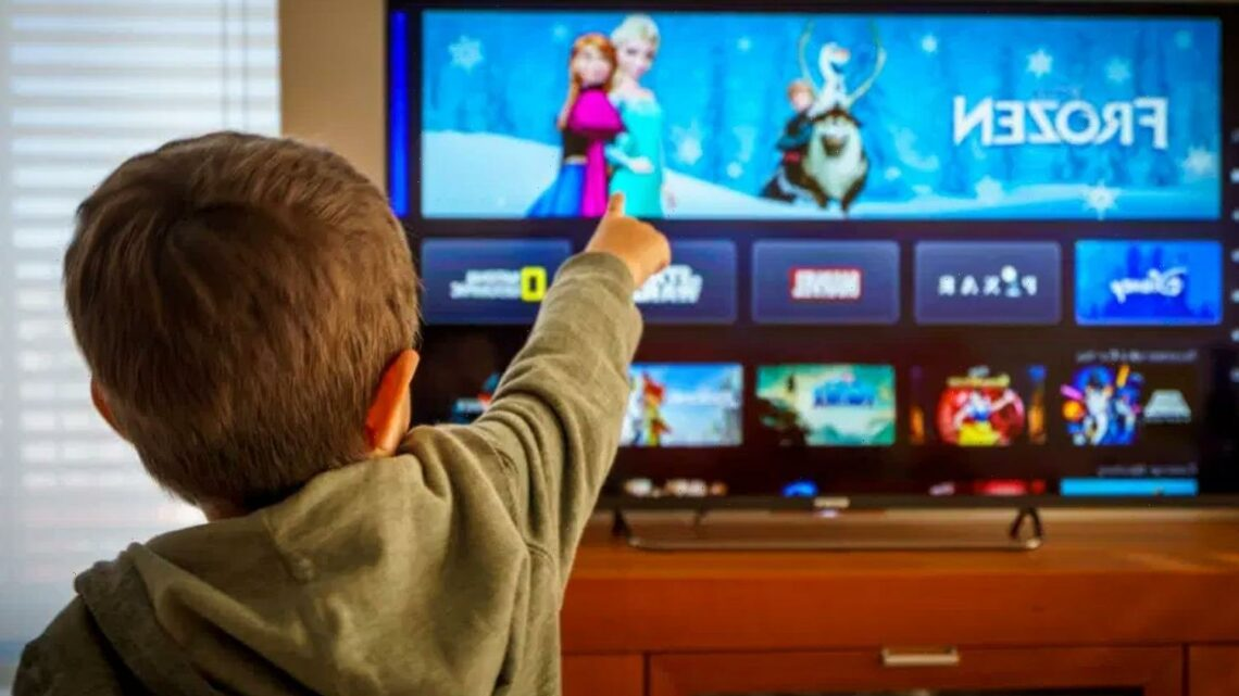 Children spending more time streaming than watching traditional TV for the first time, study reveals