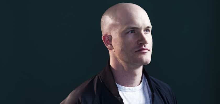 Coinbase CEO Brian Armstrong Sold 749,999 COIN Shares on Opening Day