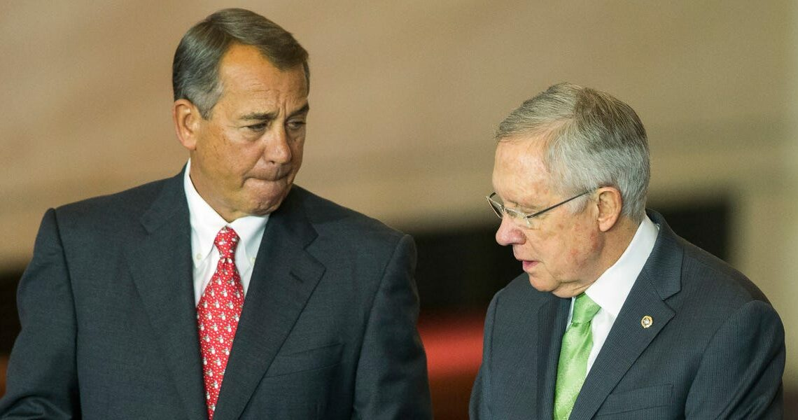 Harry Reid on former House Speaker John Boehner: 'I did everything I could to cause him trouble' but we 'got a lot done'