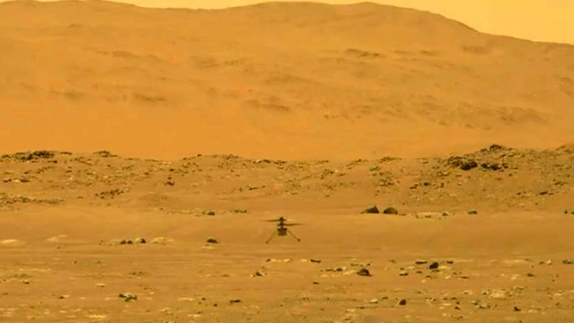 NASA releases 'hi-res' video of Ingenuity helicopter making historic flight on Mars