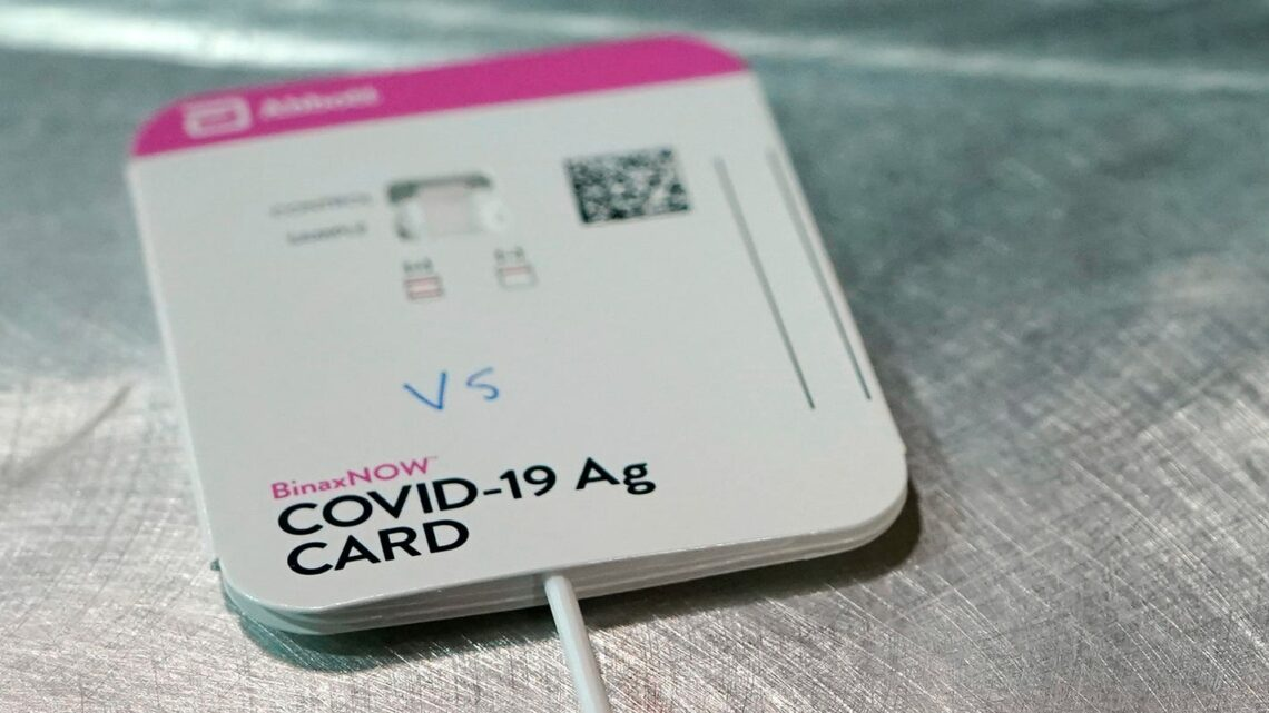 No-prescription, rapid COVID-19 home tests to be sold at CVS, Walgreens and Walmart beginning this week